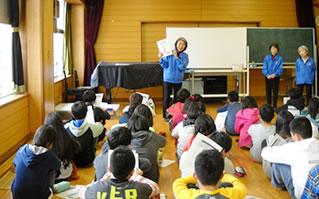 福祉体験学習への協力
